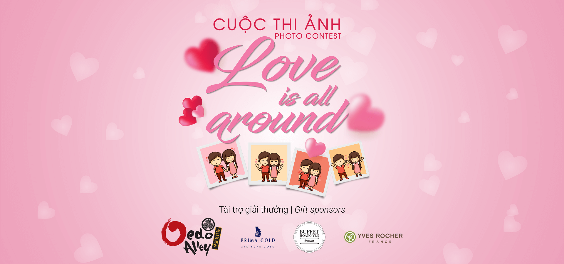"Cuộc thi ""Love is all around"""