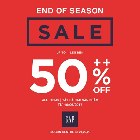 GAP - HOT SUMMER SALE