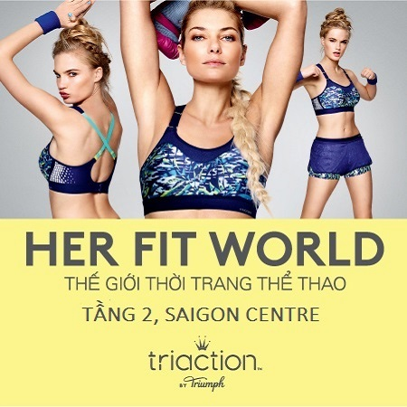 HER FIT WORLD-RA MẮT TRIACTION