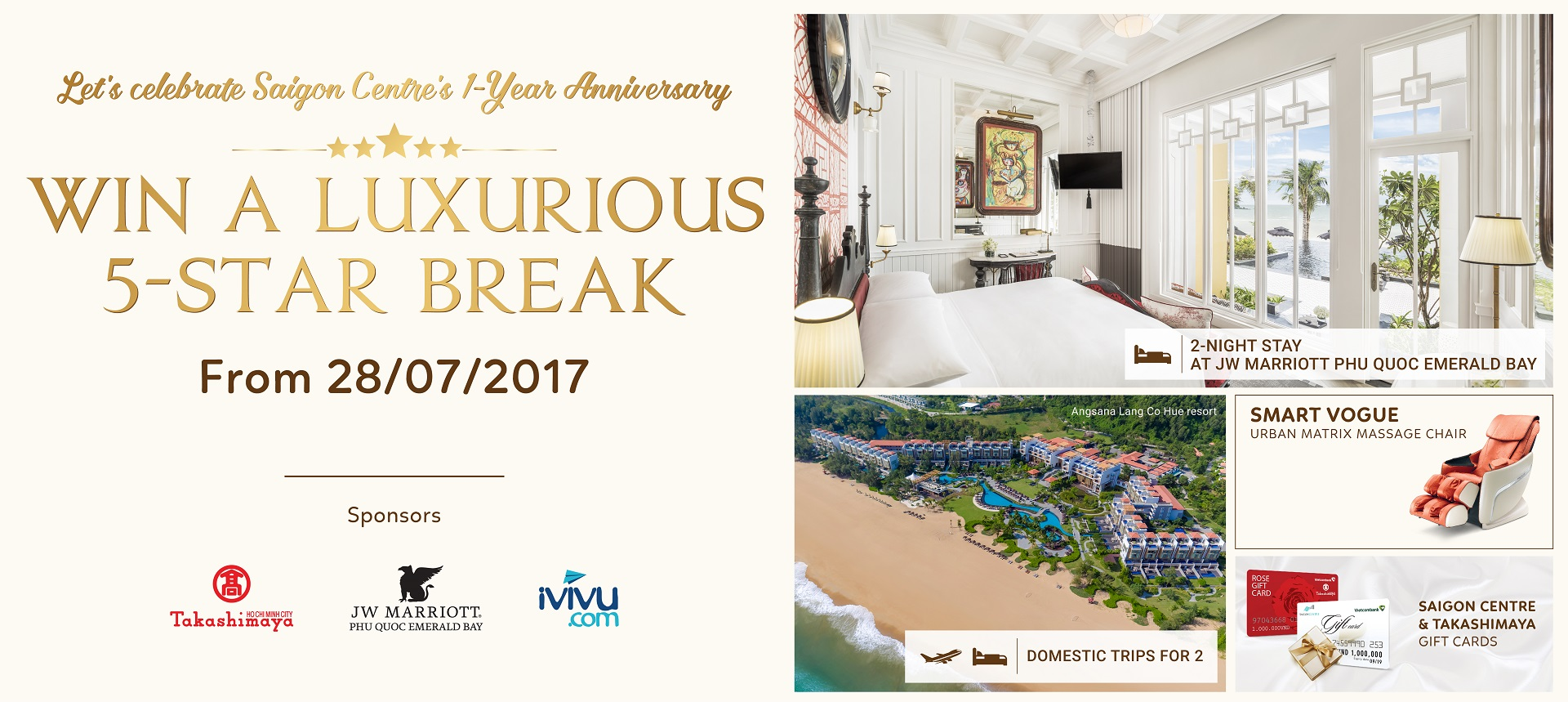 Win a luxurious 5-star break