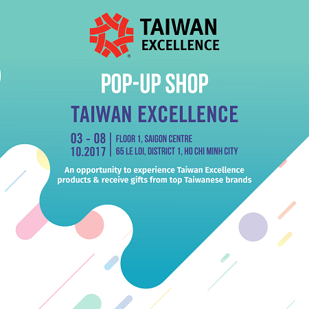 TAIWAN EXCELLENCE POP-UP SHOP