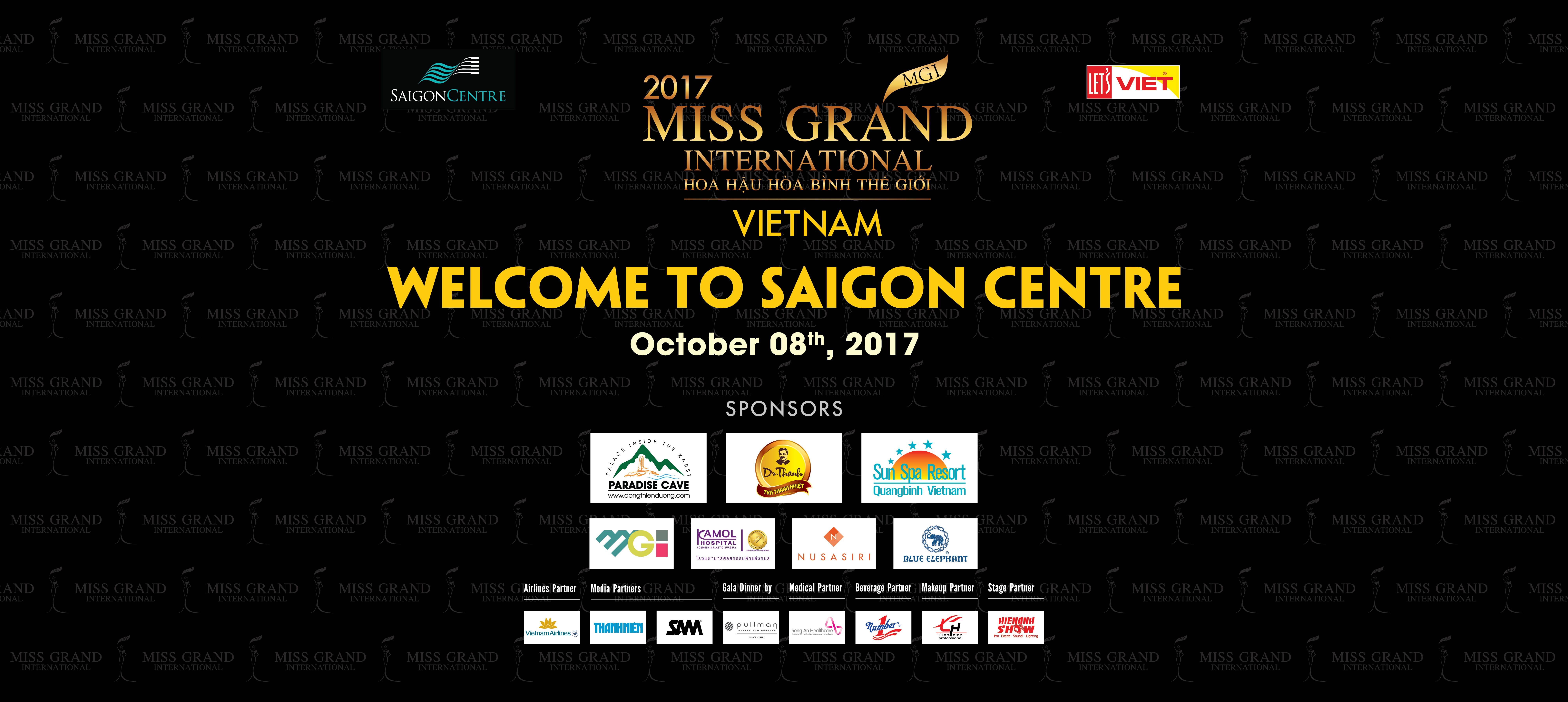 Miss Grand at Saigon Centre