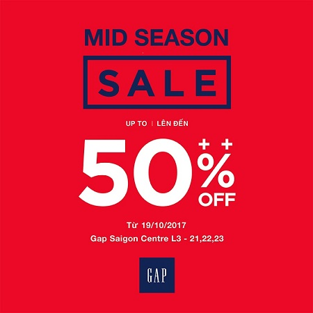 GAP - MID SEASON SALE