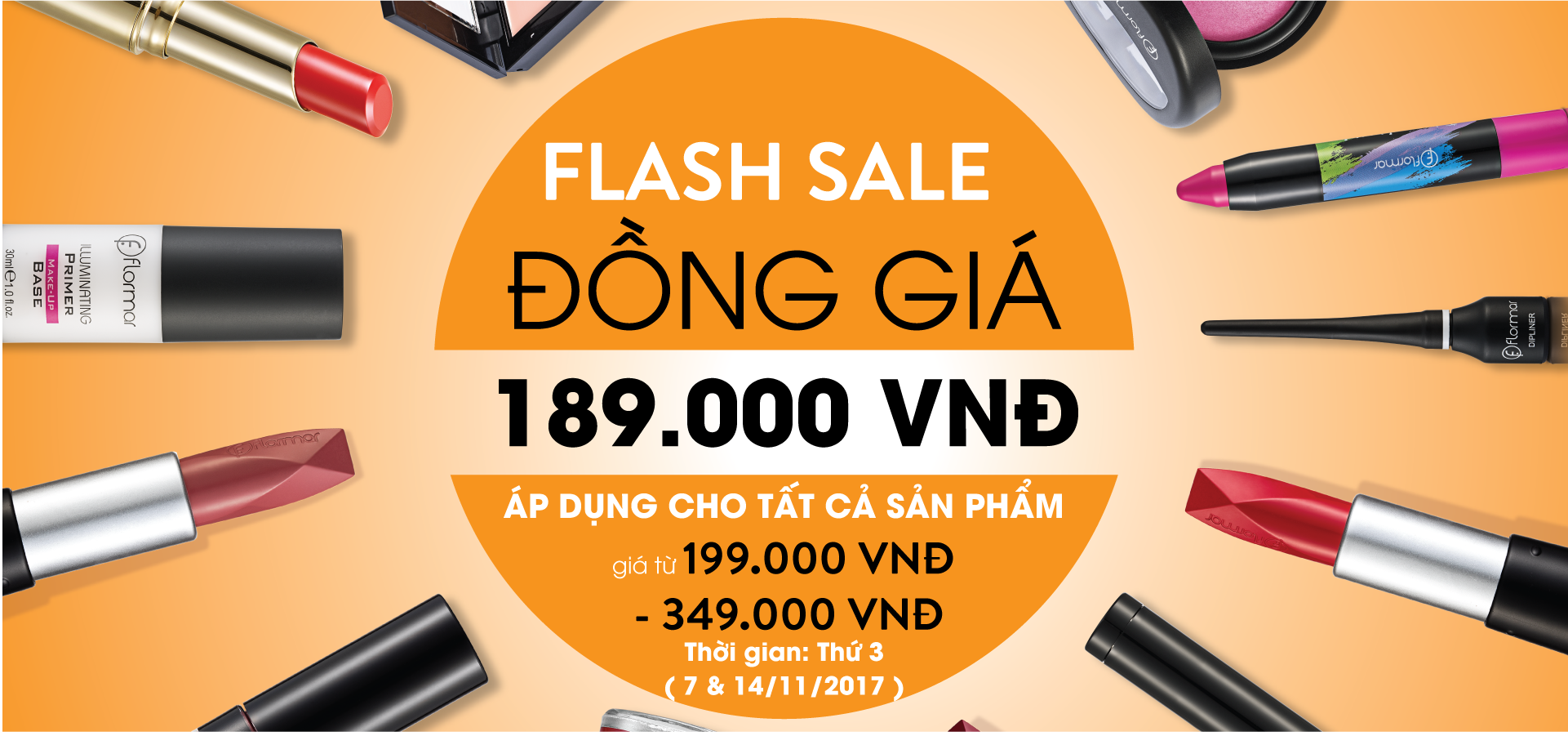 FLASH SALE WITH FLORMAR