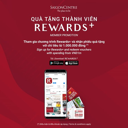 REWARDS+ MEMBER PROMOTION