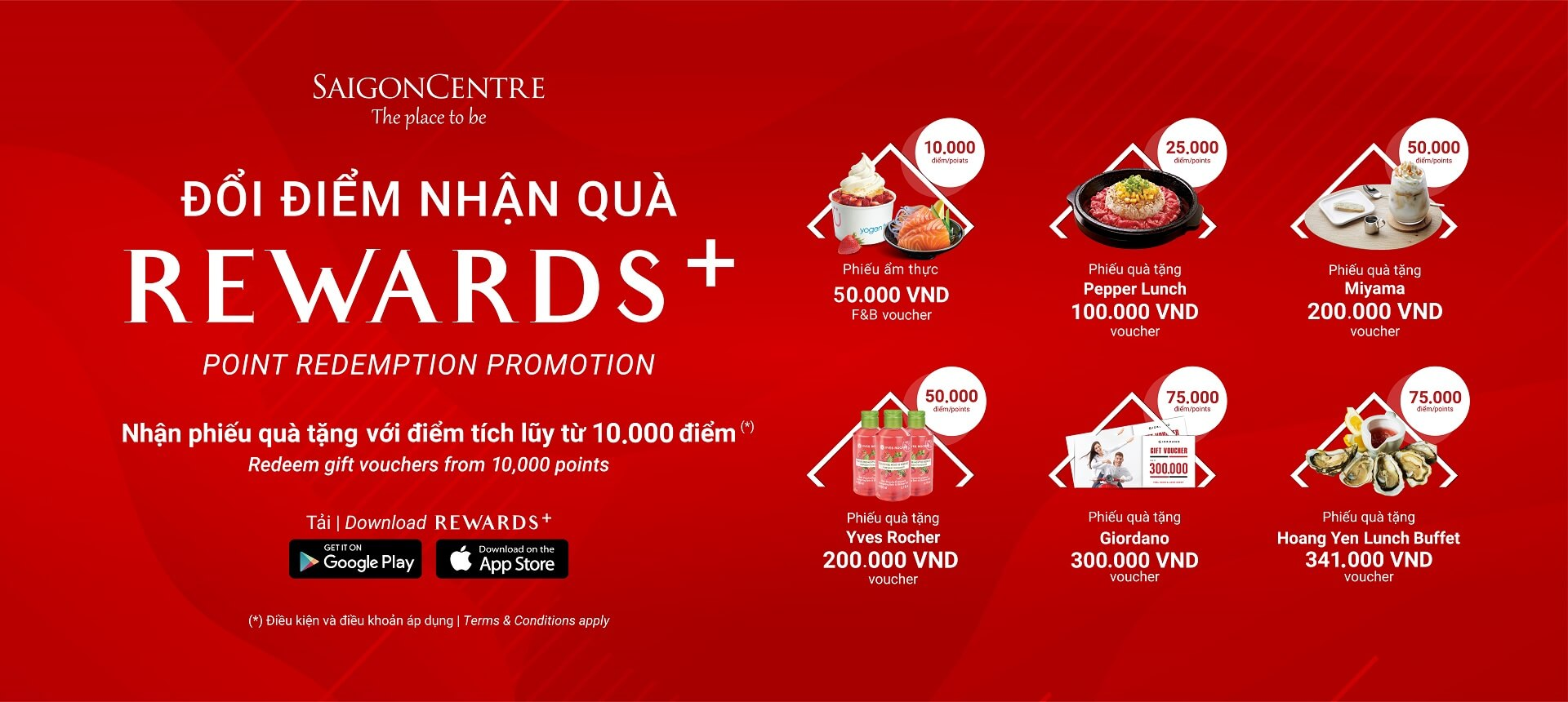 POINT REDEMPTION PROMOTION