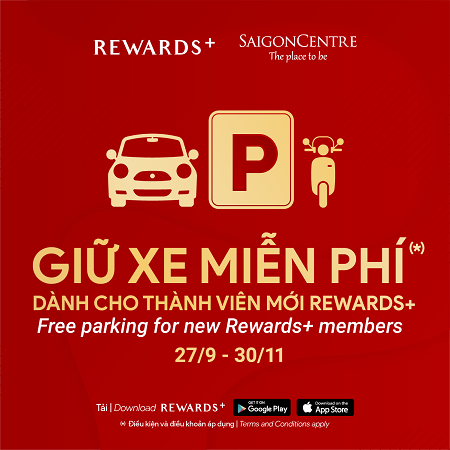 free parking for new members