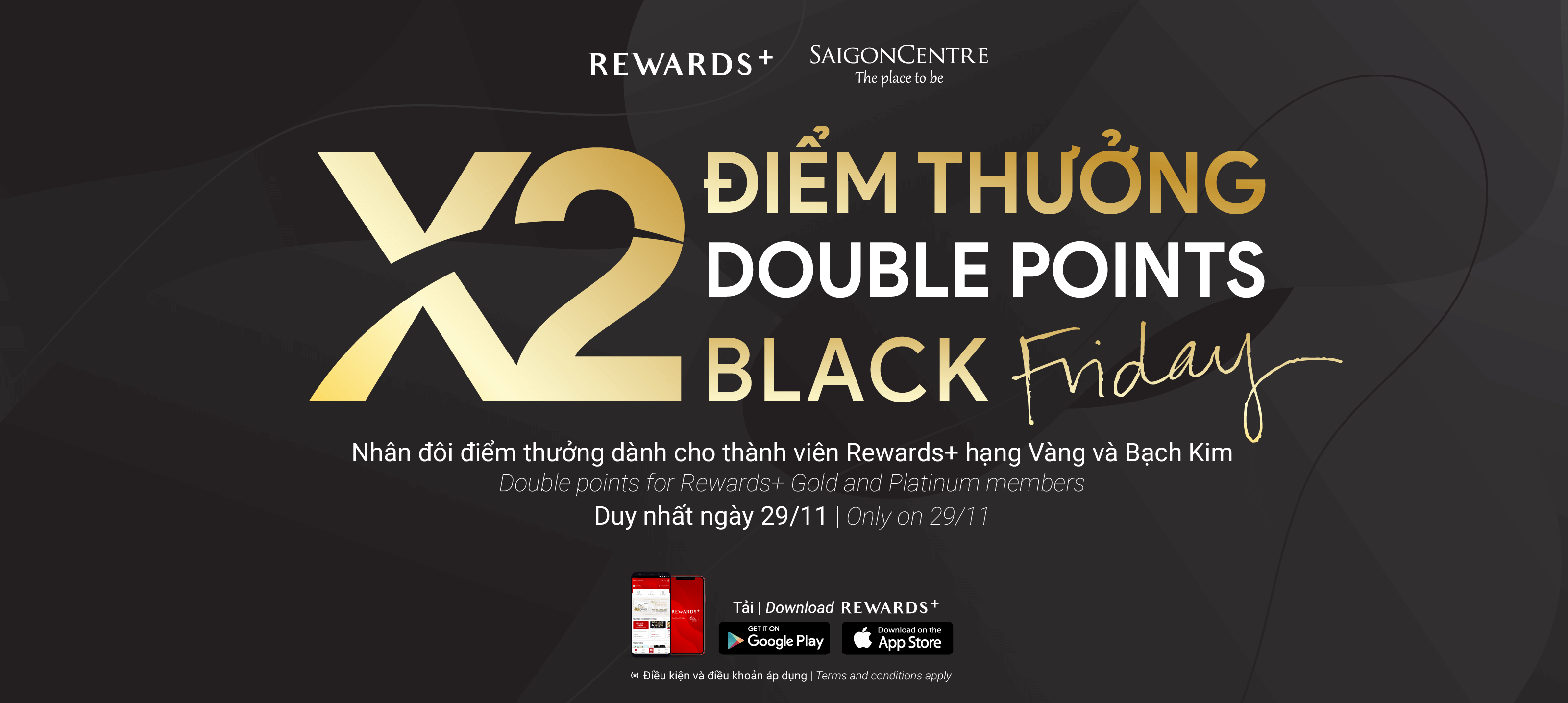 BLACK FRIDAY DOUBLE POINTS