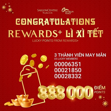 """LUCKY POINTS FROM REWARDS+"" WINNERS"