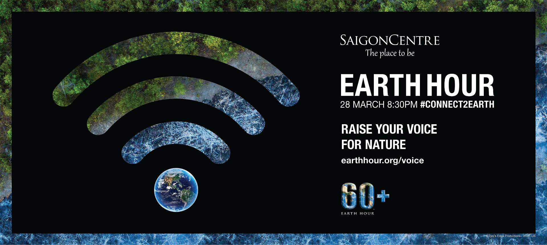 Earth Hour At Saigon Centre
