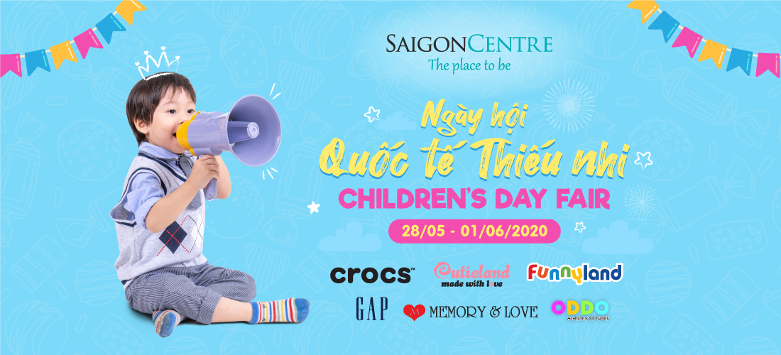 CHILDREN'S DAY FAIR AT SAIGON CENTRE