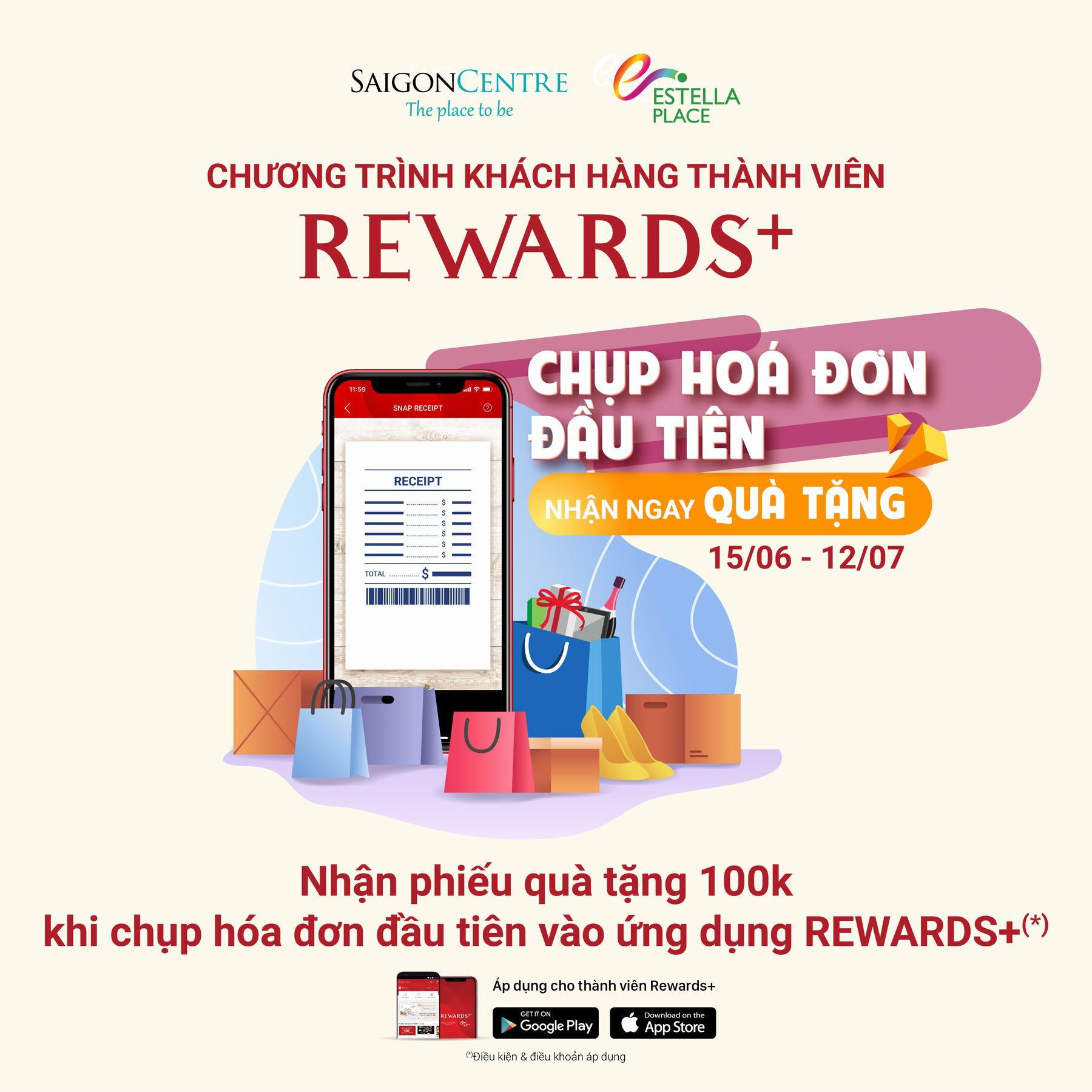 Snap first receipts and get gift vouchers