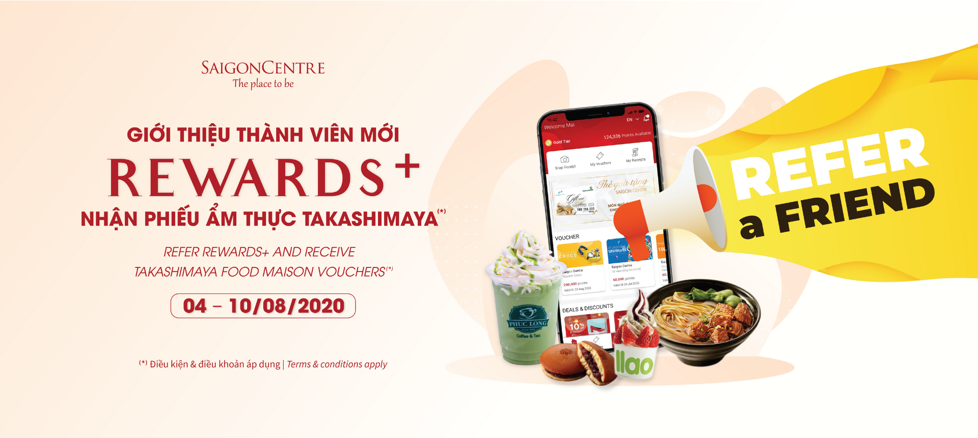 REFER REWARDS+ APP & RECEIVE TAKASHIMAYA FOOD MAISON VOUCHERS