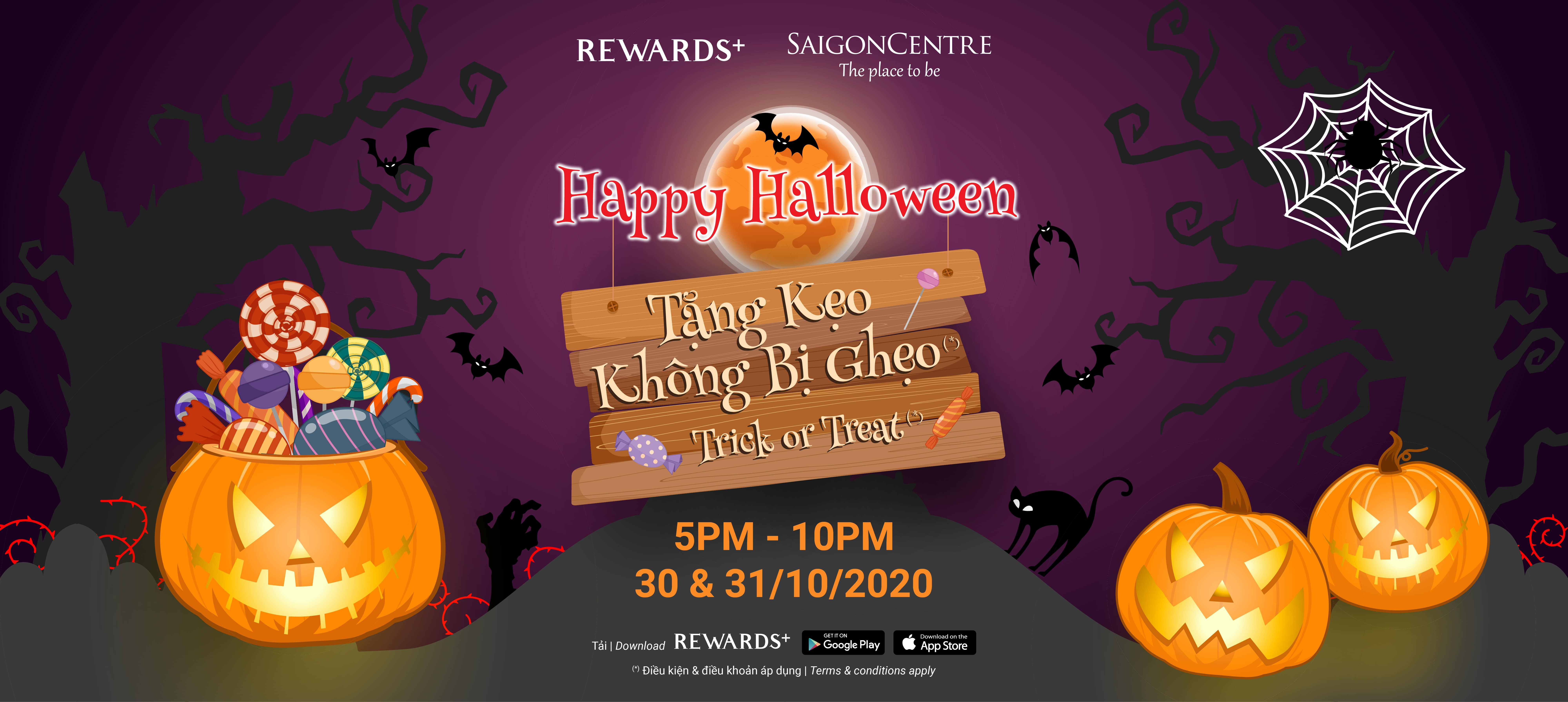TRICK & TREAT - HALLOWEEN GIFTS FROM SAIGON CENTRE