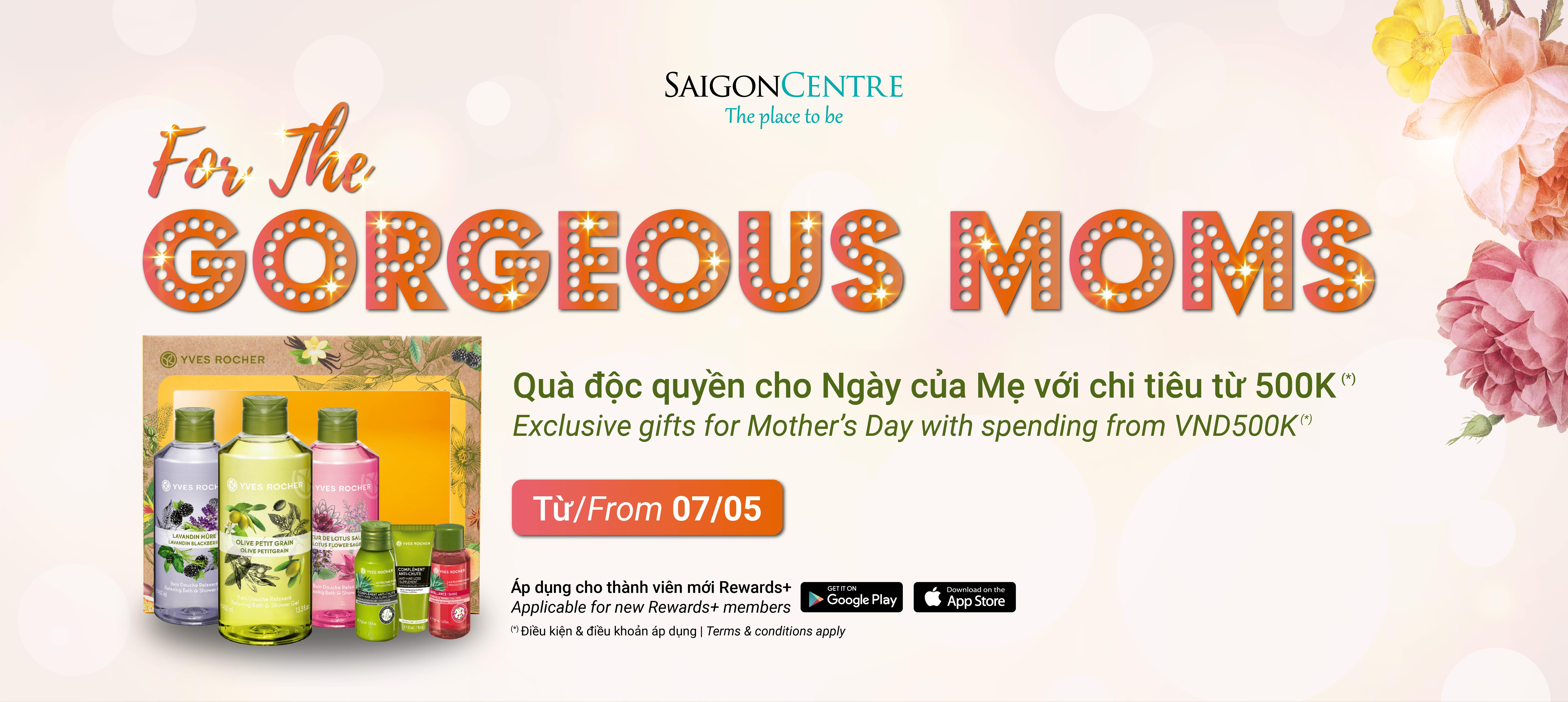 EXCLUSIVE GIFTS FOR MOTHER'S DAY